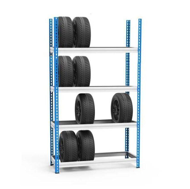 Стеллаж для шин и колес МКФ 2500-1525-508 (4 полки)